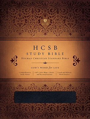 Image for HCSB Study Bible, Black Genuine Leather