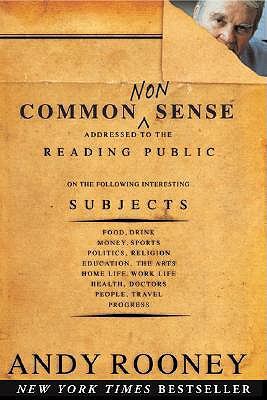 Common Nonsense, ANDREW A. ROONEY