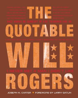 Image for QUOTABLE WILL RODGERS