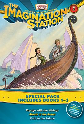 Image for Vols 1-3 Imagination Station Books: Voyage with the Vikings / Attack at the Arena / Peril in the Palace (AIO Imagination Station Books)