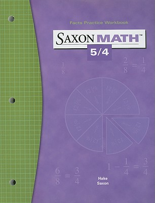 Image for Saxon Math 5/4 Facts Practice Workbook (Paperback)