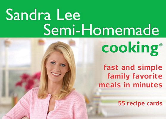 Image for Cook's Cards: Sandra Lee Semi-Homemade Cooking: 55 Recipe Cards