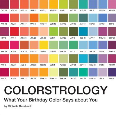 Image for Colorstrology: What Your Birthday Color Says about You