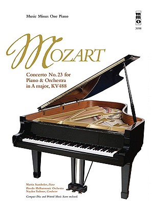 Image for Mozart - Concerto No. 23 in A Major, KV488: Music Minus One Piano 2-CD Set (Music Minus One (Numbered))