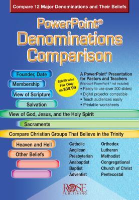 Denominations Comparison (PowerPoint), Rose Publishing