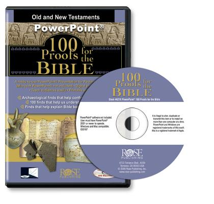 100 Proofs for the Bible (PowerPoint), Rose Publishing