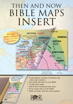 Image for Rose Bible Maps Inserts