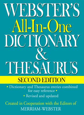 Image for Webster's All-In-One Dictionary & Thesaurus