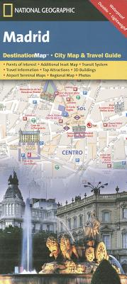 Madrid (National Geographic Destination City Map), National Geographic Maps