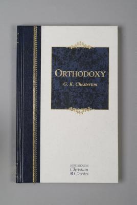 Image for Orthodoxy (Hendrickson Christian Classics)