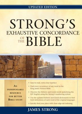 """Image for """"Strongs Exhaustive Concordance, Updated Edition KJV"""""""