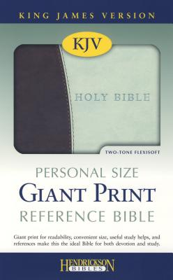Personal Size Giant Print Reference Bible-KJV, Hendrickson Publishers (Author)