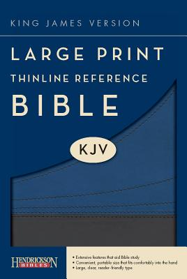 Large Print Thinline Reference Bible-KJV