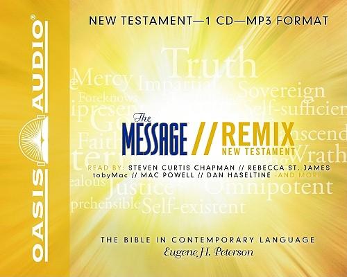 The Message Remix Bible: New Testament, Peterson, Eugene H