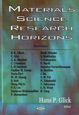 Materials Science Research Horizons