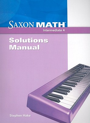 Image for Saxon Math Intermediate 4