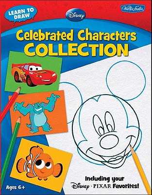 Image for Learn to Draw Disney Celebrated Characters Collection: Including your Disney*Pixar Favorites! (Licensed Learn to Draw)