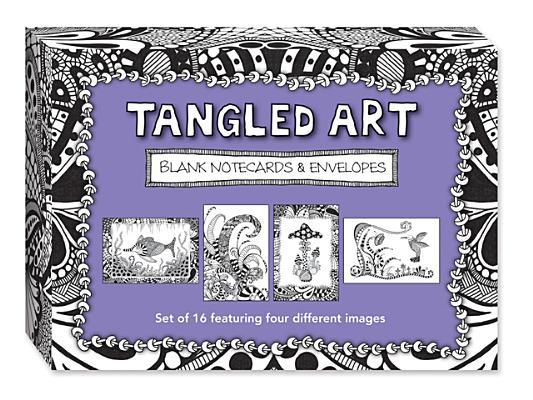 Image for Tangled Art: Blank Note Card & Envelope