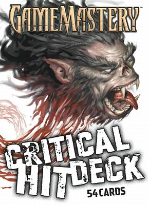 Gamemastery Critical Hit Deck New Printing, Bulmahn, Jason