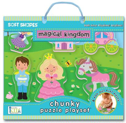 Soft Shapes Chunky Puzzle Playset: magical kingdom (Foam Puzzle and Playset)