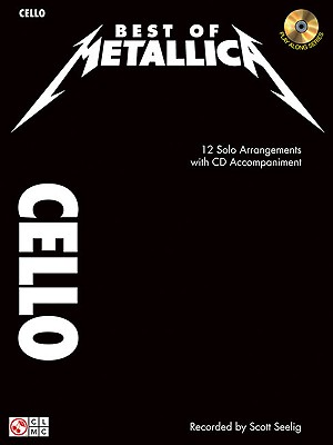 Image for Best of Metallica for Cello: 12 Solo Arrangements with CD Accompaniment