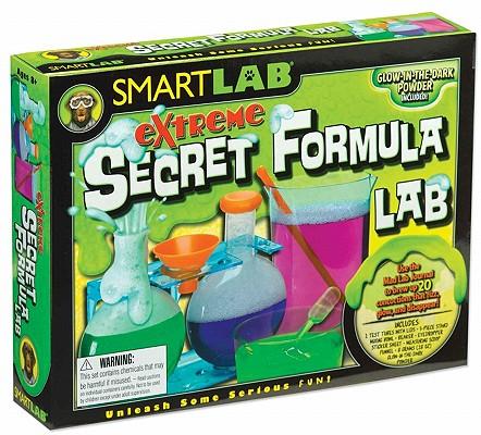 SMARTLAB: Extreme Secret Formula Lab, Leslie Johnstone, Shar Levine