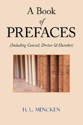 Image for A Book of Prefaces (Including Conrad, Dreiser & Huneker)