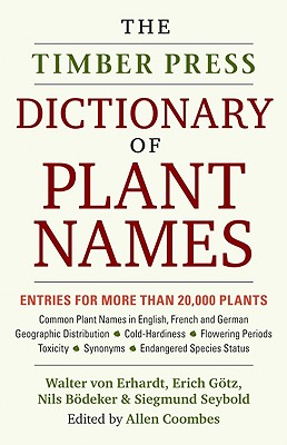 Image for The Timber Press Dictionary of Plant Names