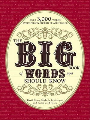 Image for The Big Book of Words You Should Know: Over 3,000 Words Every Person Should be Able to Use (And a few that you probably shouldn't)