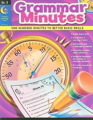 Image for Creative Teaching Grammar Minutes 5th grade workbook (Building grammar skills)