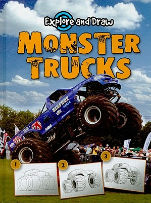 Monster Trucks (Explore & Draw), Becker, Ann