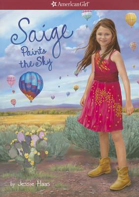 Image for Saige Paints the Sky (American Girl)