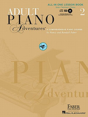 Image for Adult Piano Adventures All-in-One Lesson Book 2