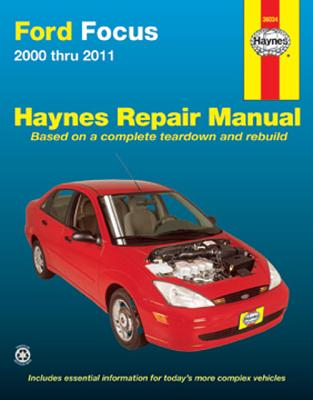 Image for Ford Focus (00-11) Haynes Repair Manual (Does not include information specific to SVT or rear disc brake models. Includes thorough vehicle coverage apart from the specific exclusion noted)