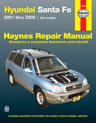 Hyundai Santa Fe 2001-09 All Models (43050) Haynes Automotive Repair Manual, Haynes Publishing