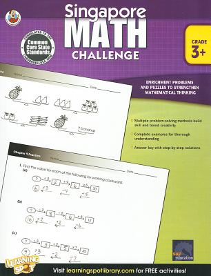 Image for Singapore Math Challenge, Grades 3 - 5
