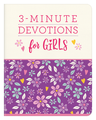 Image for 3-Minute Devotions for Girls