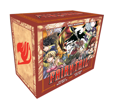Image for FAIRY TAIL Manga Set: Volumes 24 - 46