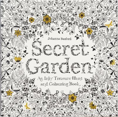 Secret Garden: An Inky Treasure Hunt and Colouring Book, Johanna Basford