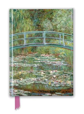 Image for CLAUDE MONET: BRIDGE OVER A POND OF WATER LILIES FOILED JOURNAL (FLAME TREE NOTEBOOKS)
