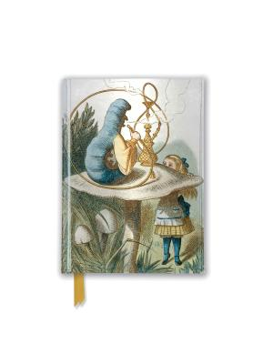 Image for British Library Tenniel: Alice (Foiled Pocket Journal) (Flame Tree Pocket Books)