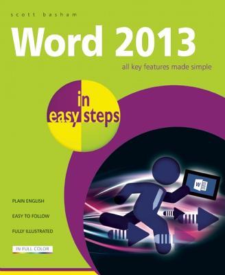 Word 2013 in easy steps, Basham, Scott