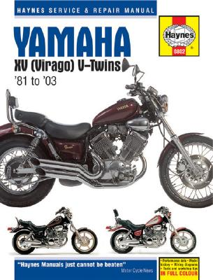 Image for Yamaha XV (Virago) V-Twins 1981-2003 (Haynes Manuals)