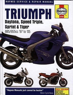 Image for Triumph Daytona, Speed Triple, Sprint & Tiger: 885/955cc '97 to '05 (Haynes Service & Repair Manual)