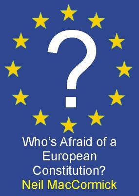 Image for Who's Afraid of a European Constitution? (Societas)