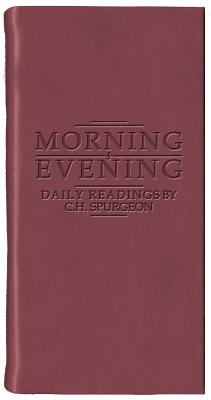 Image for Morning And Evening - Matt Burgundy (Daily Readings)