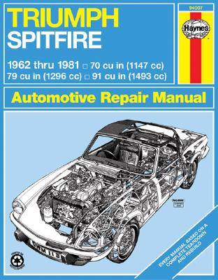 Image for Triumph Spitfire Mk.1, 2, 3, 4 amp; 1500 1962-81 Owner's Workshop Manual