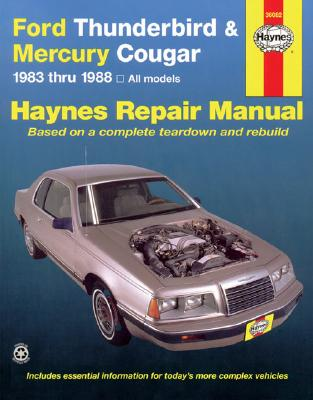 Image for Ford Thunderbird and Mercury Cougar, 1983-1988 (Haynes Manuals)