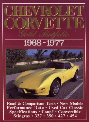 Image for Chevrolet Corvette 1968-1977: Gold Portfolio