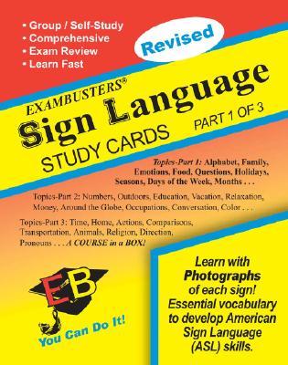 Sign Language Study Cards (Ace's Exambusters), Daniel Binder; Christina Mangano